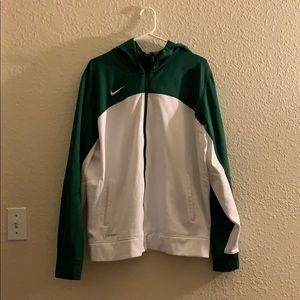 Green Nike Tech Fleece Jacket